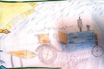 عبد الرحمن رستم 8 سنوات إدلب