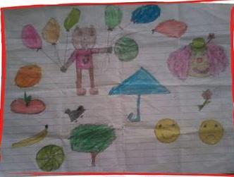 مشاركة طفل من الغوطة الشرقية (2)